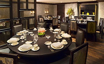 private dining room at nios